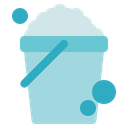 Hygiene Bucket Cleaning Icon