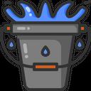 Bucket Water Bucket Cleaner Icon
