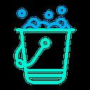 Bucket & Foam Icon