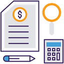 Budgeting Money Management Financial Planning Icon
