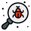 Bug Insect Magnify Icon