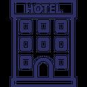 Building Hotel Hotel Building Icon
