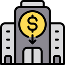 Building Bank Banking Icon