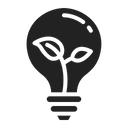 Bulb Lamp Idea Icon