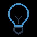Bulb Business Idea Icon