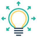 Bulb Creative Mind Icon
