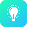 Bulb Idea Imagination Icon