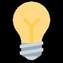 Bulb Inovation Electric Icon