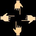 Bully Slander Finger Icon