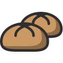 Bun Bakery Food Icon
