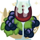 Bunch Drink Glass Icon