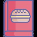Burger Recipe Cookbook Cooking Book Icon