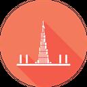 Burj Dubai Khalifa Icon
