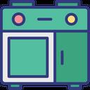 Burner Oven Cooking Range Gas Range Icon