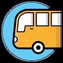Bus Autobus Transportation Icon