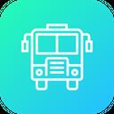 Bus Transportation Travel Icon