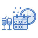 Business Event Schedule Icon