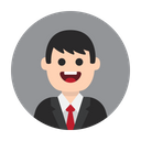 Business Employee Manager Icon