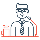 Business Conference Speaker Icon