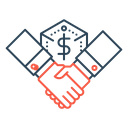 Business Deal Collaboration Icon