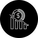 Business Loss Decline Icon