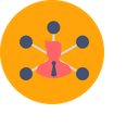 Communication Branch Branches Icon