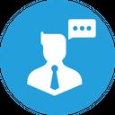 Chatting Communication Thinking Icon