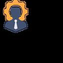 Man Settings Profile Icon