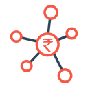 Business Currency Rupee Icon