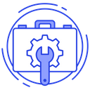 Business Development Business Maintenance Configuration Icon