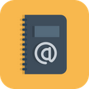 Business Diary Address Icon