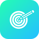 Business Goal Target Icon