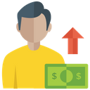 Business Growth Money Growth Productivity Icon