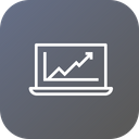Business Growth Chart Icon