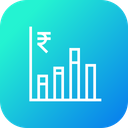 Business Growth Column Icon