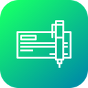 Business Letter Document Icon