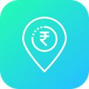 Business Location Finance Icon