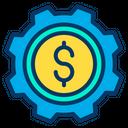 Business Management Dollar Management Finance Management Icon