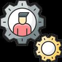Business Management Finance Management Icon