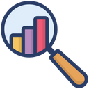 Analytics Financial Report Business Monitoring Icon