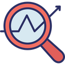 Business Monitoring Data Analysis Data Monitoring Icon