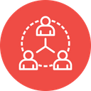 Business Network Team Icon