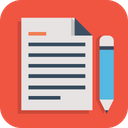 Business Office Paper Icon