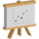Business Performance Data Visualization Growth Strategy Icon
