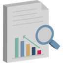 Business Performance Business Report Data Analysis Icon
