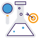 Financial Research Business Research Financial Lab Icon
