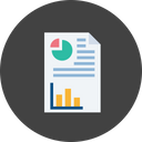 Business Sales Analytics Icon