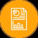 Business Sales Analytics Icon