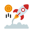 Business Startup Business Launch New Business Icon