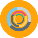 Business Statics Chart Icon